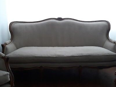 Antique French Set Suite sofa