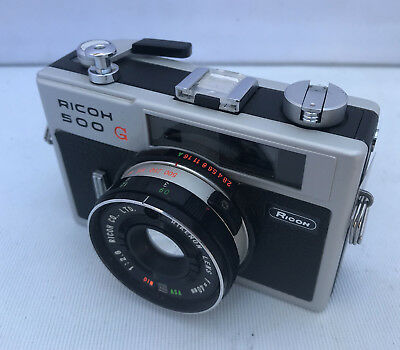 Ricoh 500G Compact Rangefinder 35mm Film Camera