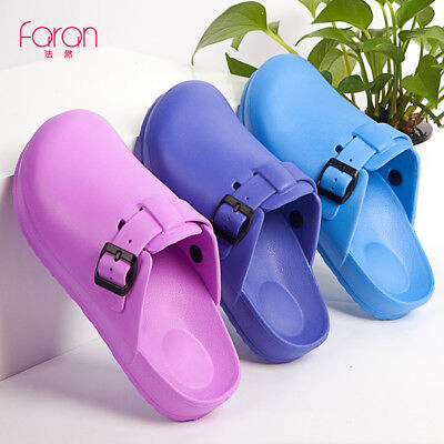 ANNO Medical Nursing Shoes Strap Hospital Clogs Man Women Surgical Slippers