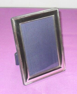 "Large Size 7.5""  Classic Sterling Silver Fully Hallmarked Photo Picture Frame"