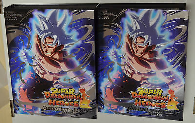 Super Dragon Ball Heroes・Lot de 2, 4 Pocket Binder NO CARDS