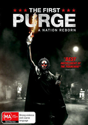 The First Purge  - DVD - NEW Region 4, 2