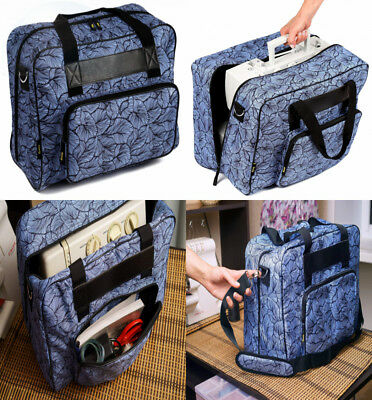 Kenley Sewing Machine Tote Bag - Padded Storage Cover Carrying Case with...