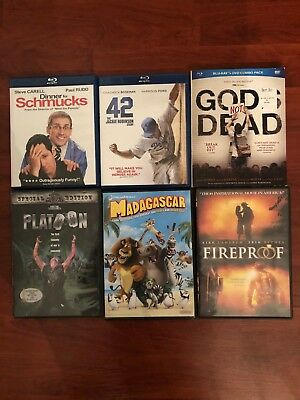 Movie Collection in Blu-ray and DVD. Different Movies, Different Genres!!!