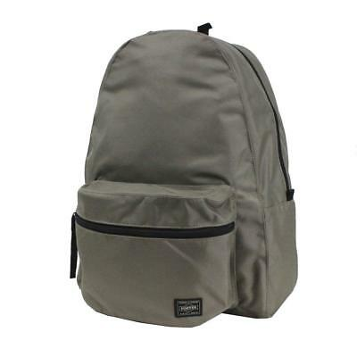 Yoshida Bag PORTER ROUND Backpack Daypack 808-06855 Beige from Japan F S NEW a079688e2f832