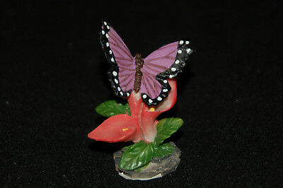 """Small Butterfly Figurine-- Poly Resin-- 1 3/4""""L x 1 1/2""""W x 2 3/8""""H"""