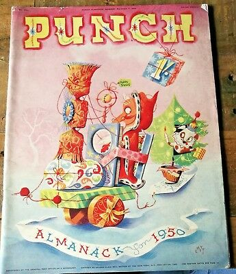 1950 Punch Almanack Magazine November 7 1949