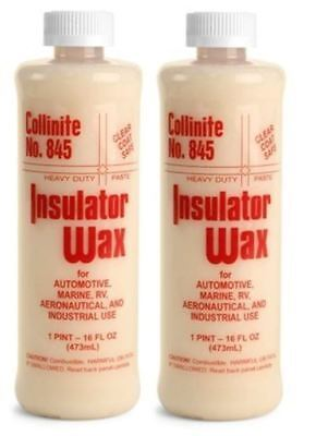 Collinite Insulator Wax 1 Pint 845 2 Pack