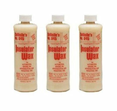 Collinite Liquid Insulator Wax, 16 oz - 3 Pack