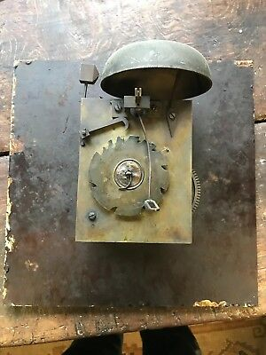 Antique Cord Wound Long Case Clock Movement by Ainsworth for Restoration