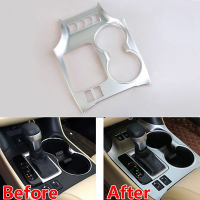 For Toyota Highlander Kluger 2014-2016 1pcs Front Water Cup Holder Cover Trim