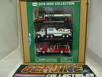 """NEW 2018 Hess MINI TOY TRUCK COLLECTION """"Completely Sold Out at Hess Website"""""""