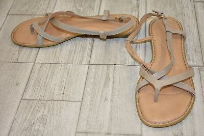 52bd0ab8aeb0   Born Mai Strappy Leather Thong Sandals