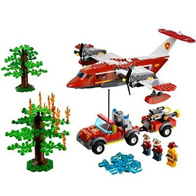 Lego City Forest Fire Truck 4208 100 Complete With Minifig And