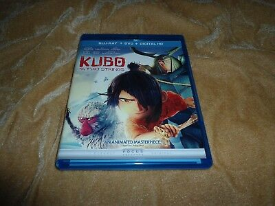 Kubo and the Two Strings (2016) [Blu-ray + DVD] + Digital HD: Expires 6/30/2019