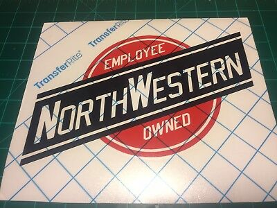 Chicago and Northwestern Decal