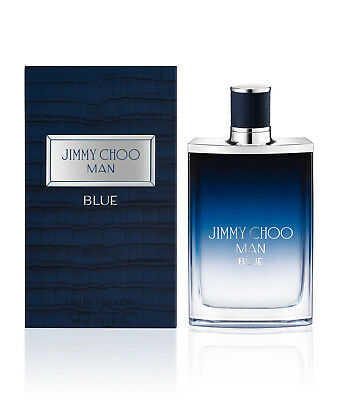 Jimmy Choo Man BLUE By Jimmy Choo - EDT/SPR - 3.3oz/100ml - Brand New In Box