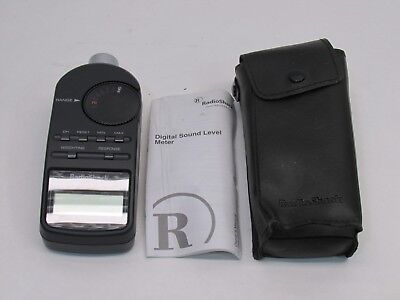 Radio Shack 33-2055 Digital Sound Level Meter-Decibel Measurement Tool