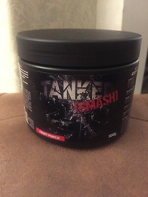 Tanked Smash Pre-Workout 250g - Fruit Punch