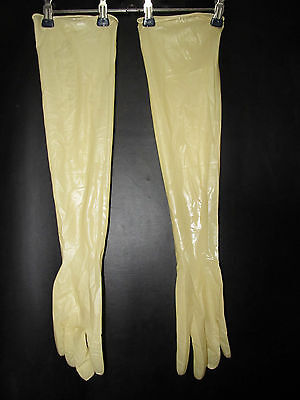 1 P,sterile Latexhandschuhe,Gloves,LatexGants,Gummihandschuhe,600 mm,L/XL 8,5