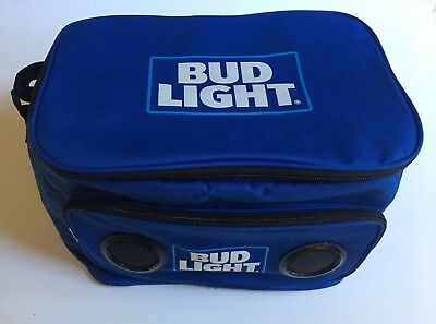 BUD LIGHT SOFT Cooler Bluetooth Speaker Travel with Built in