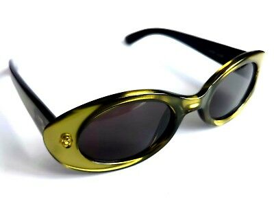 Occhiali Sunglasses Gucci Real Vintage Oval Style With Case