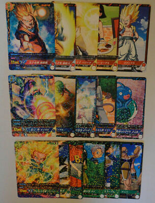 IC Carddass Dragon Ball・BT1 Rare SET [16 Cards]