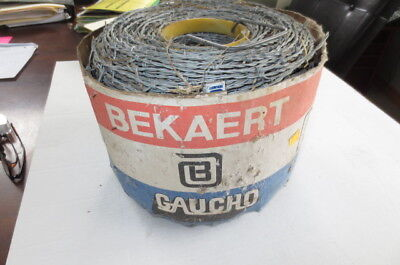 Barbed Wire Roll Galvanized Fencing Cow Horse, Deer 15.5 guage 1320 feet, HT, FS