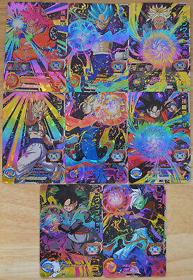 Super Dragon Ball Heroes・SH1 CP1 CP2 CP3 CP4 CP5 CP6 CP7 CP8 CP FULL SET