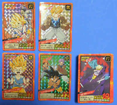 Dragon Ball Super Battle・Part 17 REG SET + 4 PRISM DBZ Power Level [42 Cards]