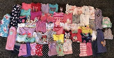 Baby Girl Clothes Lot of  59 Pieces: Size 18 Months: Gymboree Carter's Disney