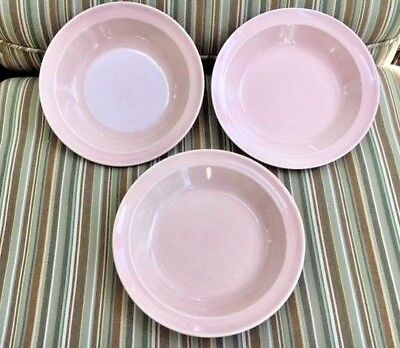 3 Luray Taylor Smith Taylor Coupe Soup Bowls Sharon Pink Color Ts&t