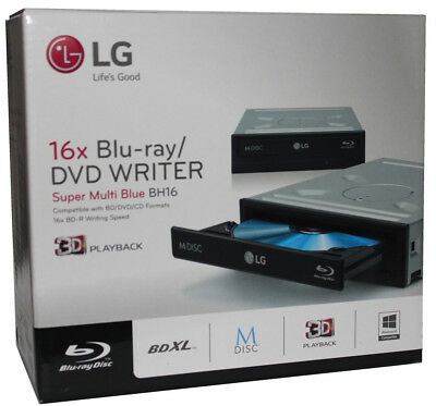 Blu-ray Brenner LG BH16NS55 mit ASUS BW-16D1HT Firmware 3.02 retail UHD friendly
