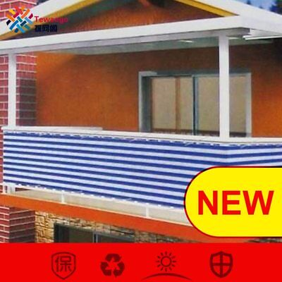Home Balcony Privacy Screen With Grommets Fence Deck Shade Sail Cover