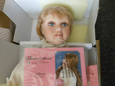Treasure Collection Porcelain Doll Paradise Galleries 24 inch Allison in Box