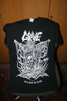 Grave - Out of respect T Shirt S NEU Unleashed Entombed Obituary Death Asphyx