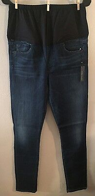 aa12f28076973 ... Secret Fit Belly Avedon Ankle Maternity Jeans 29 OZONE.