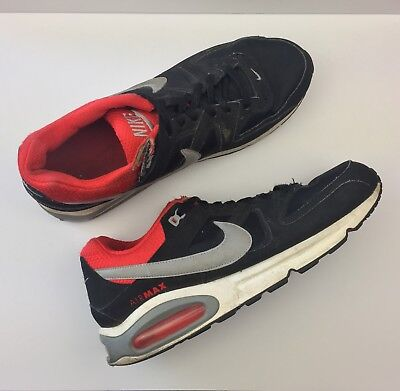 NIKE AIR MAX Command Red Running Sneakers Athletic Shoes 397689 085 Men Size 11