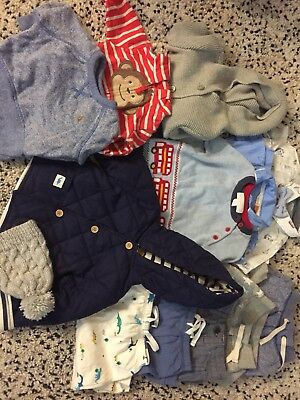 Bundle Of Boys clothes size 3-6 BNWT JOHN LEWIS MONSOON GAP THE WHITE COMPANY