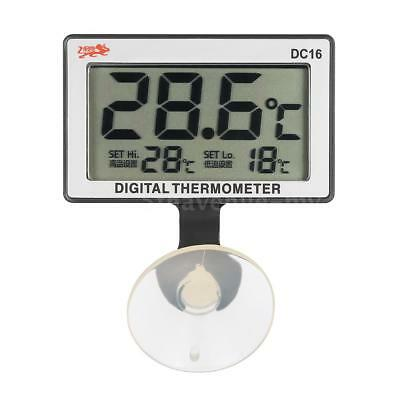 LCD Digital Fish Tank Aquarium thermomètre température mètre 0° C ~ 50° C B2X4