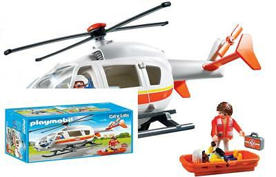 New Factory Sealed Playmobil #6686 Emergency Medical Helicopter