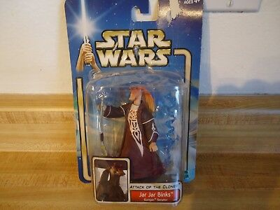 Star Wars Attack of the Clones Jar Jar Binks Gungin Senator Action Figure