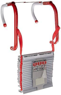 Portable Emergency Fire Escape Ladder Rope Metal Life Home Window 3 Story Safety