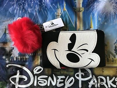 Disney Parks Mickey Peek-a-Boo Wallet by Loungefly New with Tags