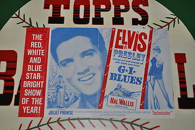 Elvis Presley Graceland Authenticated GI Blues Program for Invitational Preview