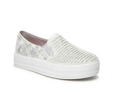 e80fb7b9bf53 Skechers Double Up - Diamond Dancer Trainers Womens Memory Foam Jewel Shoes  757