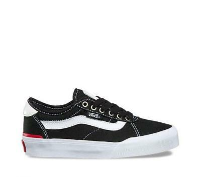 NEW Vans Youth Chima Ferguson Pro 2 Black/White Canvas