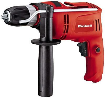 TC-ID 650 E Corded Impact Drill With Electronic Speed Control, 650 W - Red