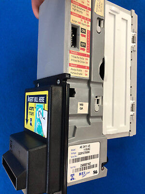 Mars Ae 2411 Bill Acceptor 110 Volt  Updated To 08 $5.new Belts Installed Arcade