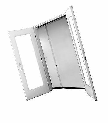 Bug Off 72R by 80 Instant Screen - Reversible Fits French Doors and Sliding G...